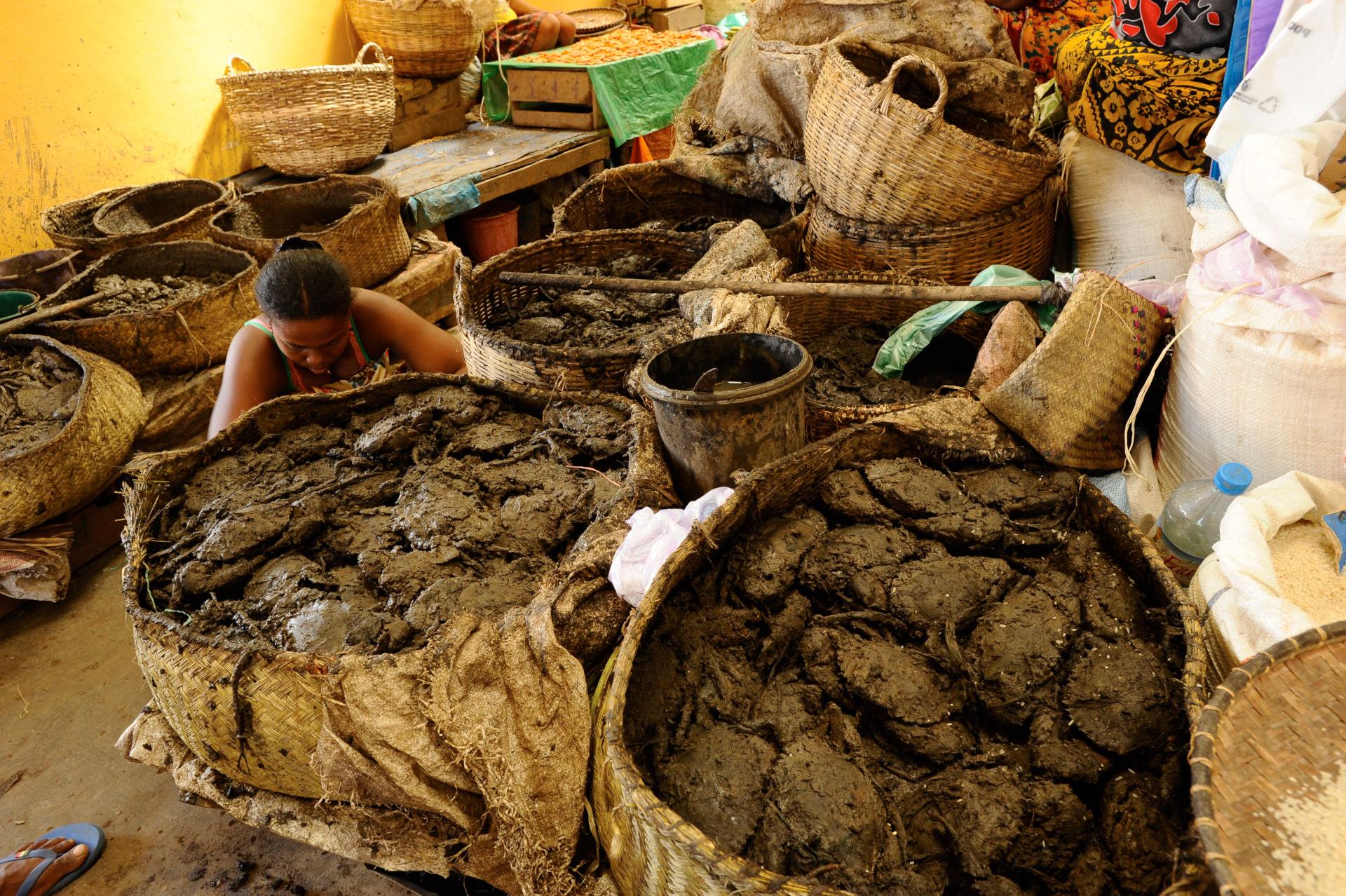 granchi al mercato di nosy be