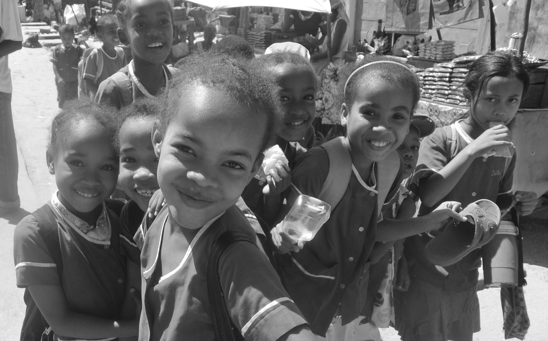 bambini malgasci