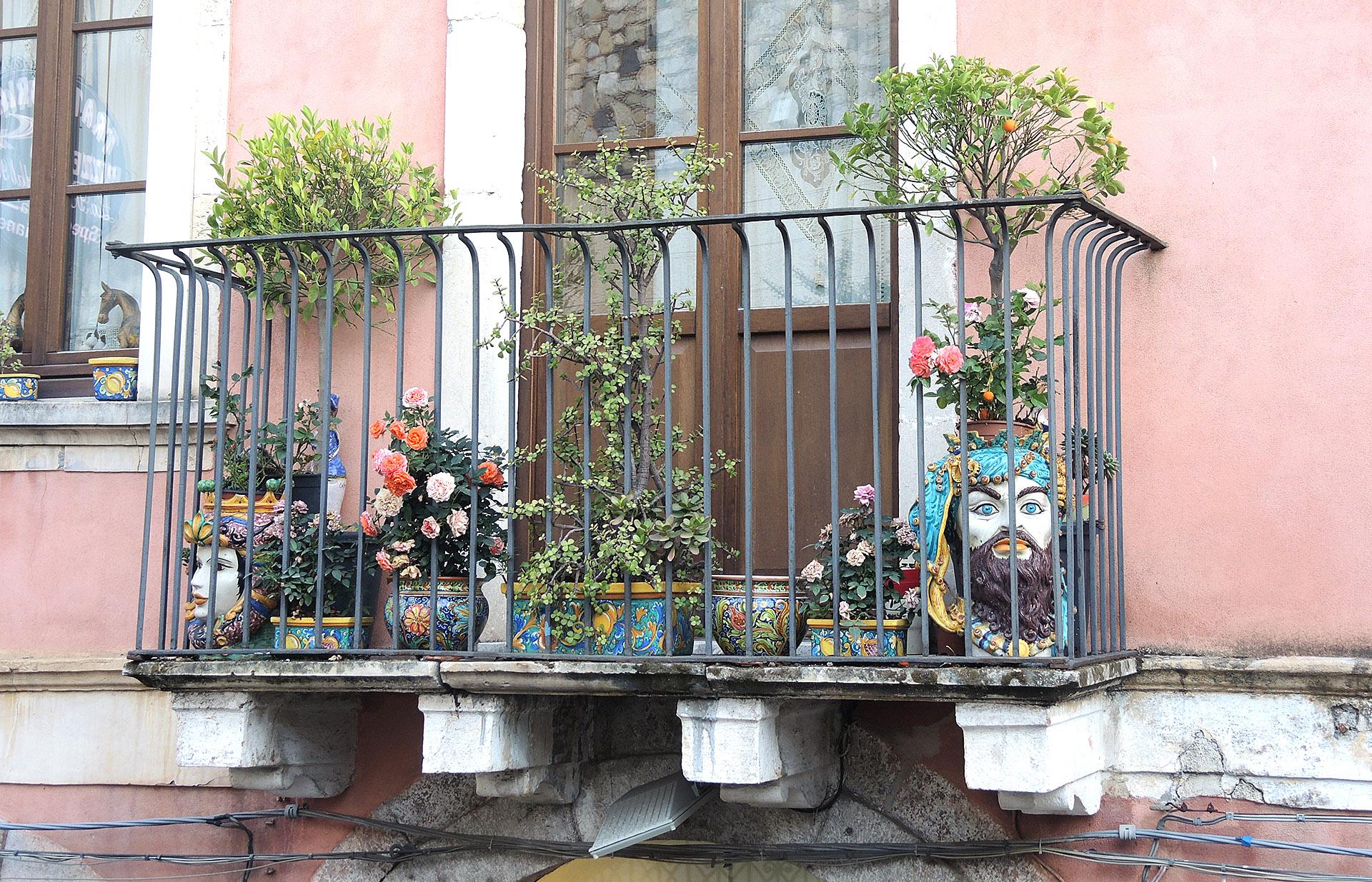 balcone taormina