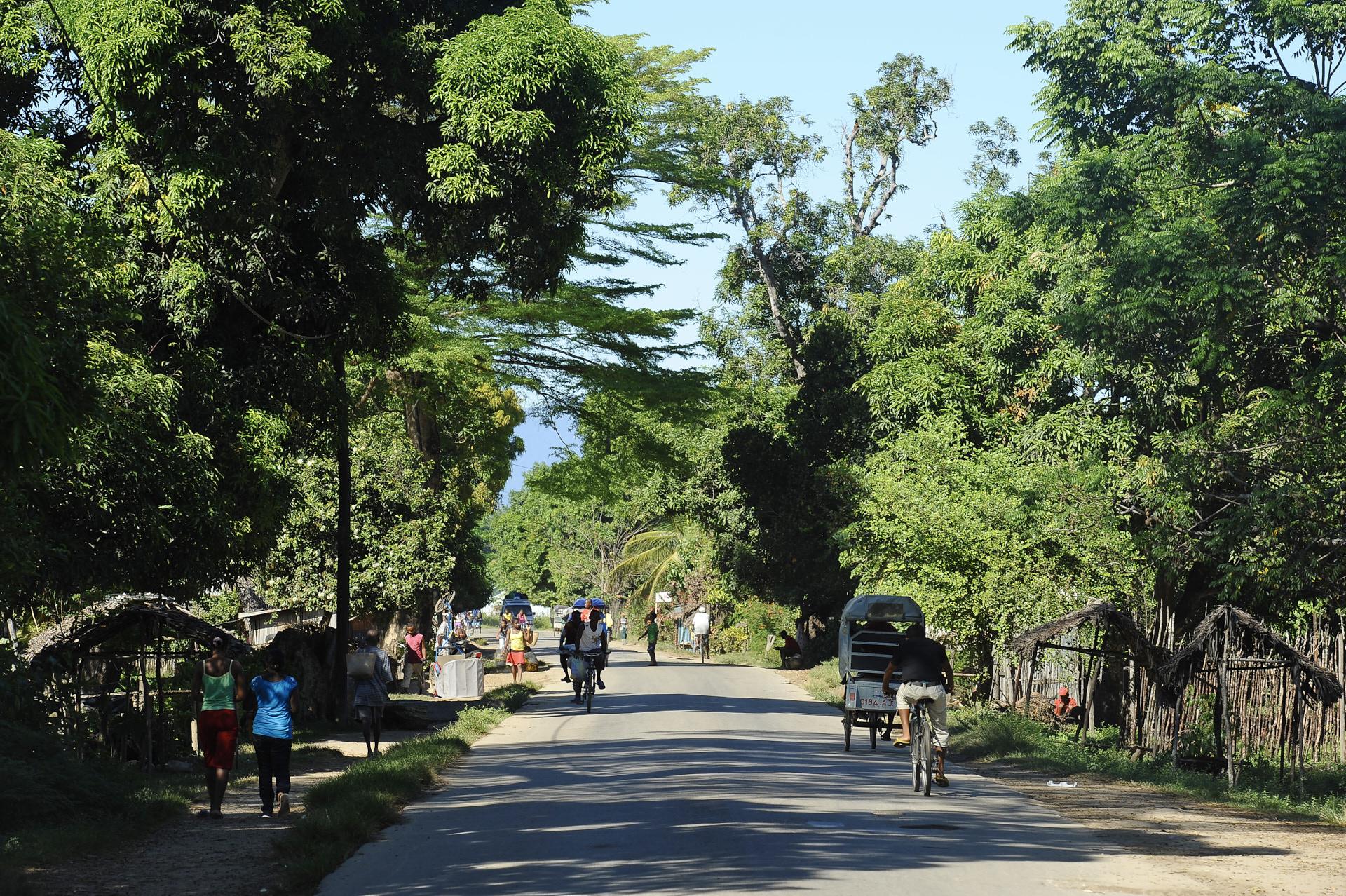 per le strade del Madagascar